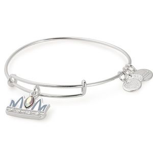 👑👑👑 ALEX AND ANI Queen Mom Charm Bangle